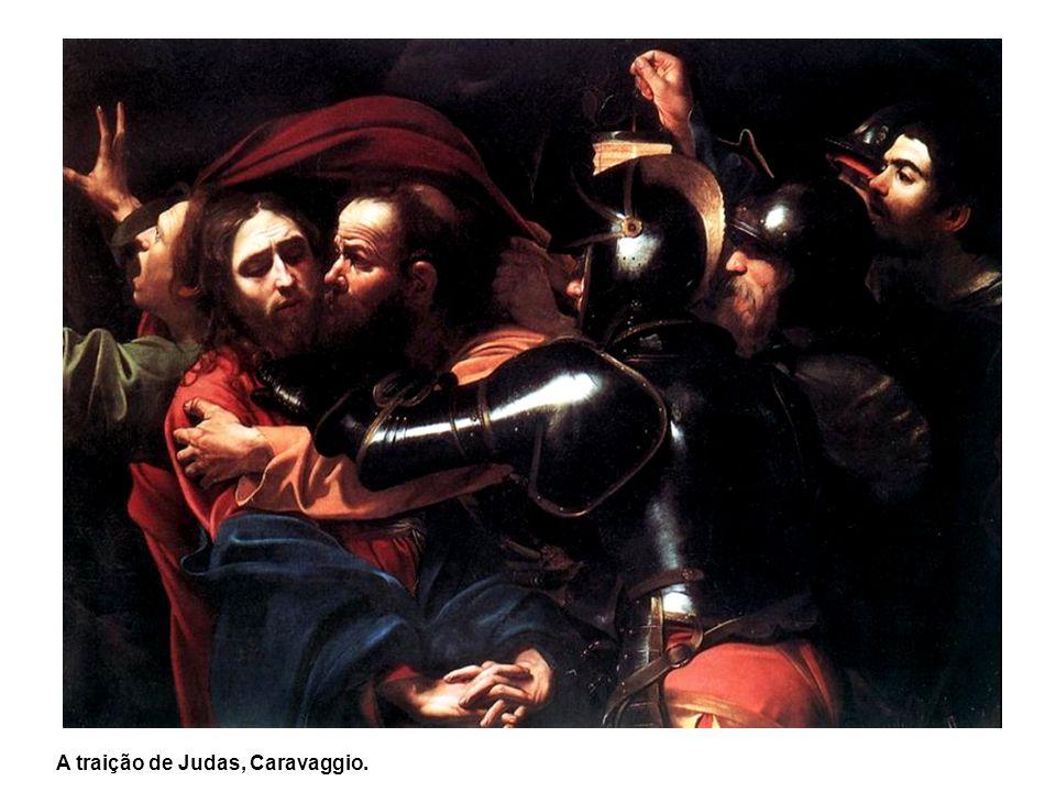 A traição de Judas, Caravaggio.