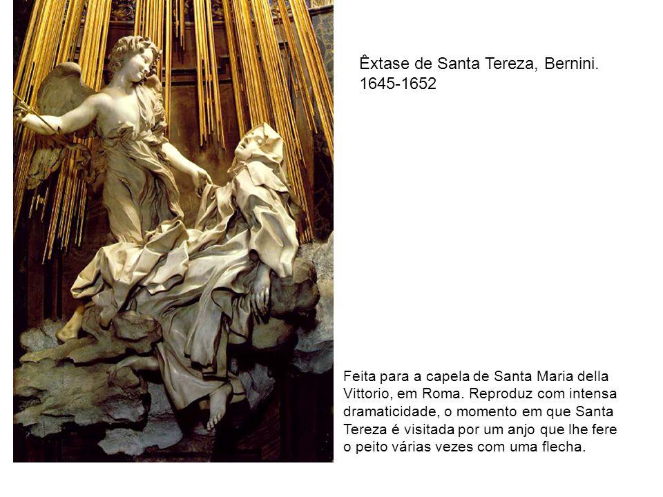 Êxtase de Santa Tereza, Bernini. 1645-1652