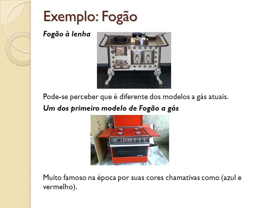 Exemplo: Fogão