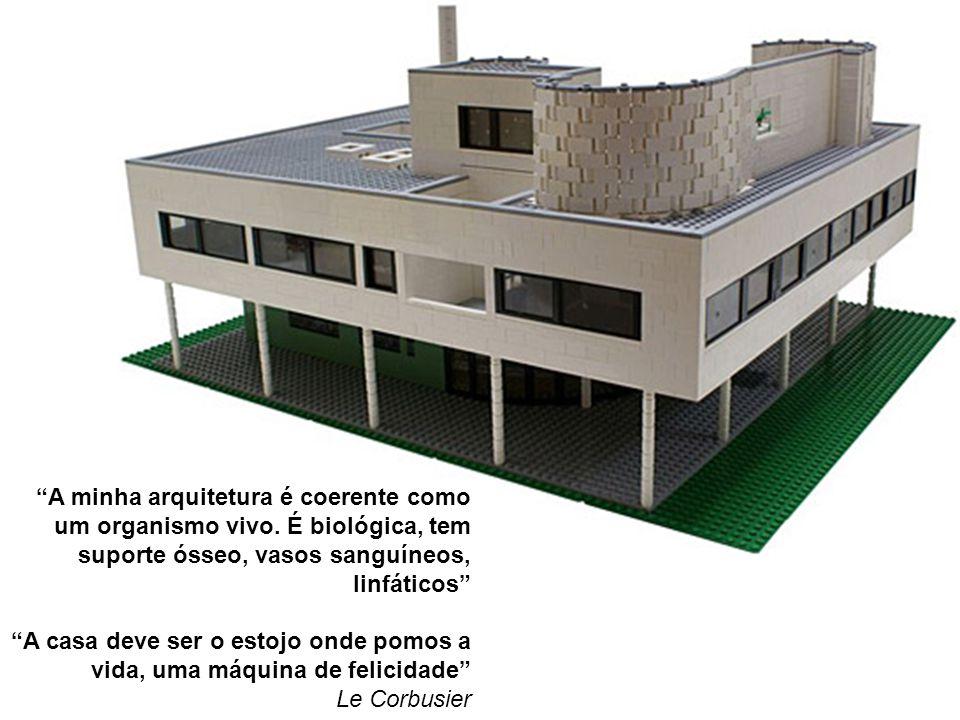 A minha arquitetura é coerente como um organismo vivo