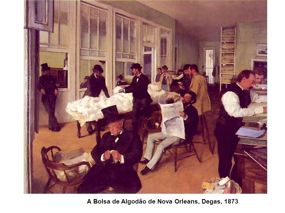 A Bolsa de Algodão de Nova Orleans, Degas, 1873