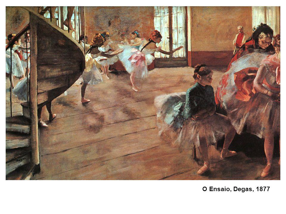 O Ensaio, Degas, 1877 52