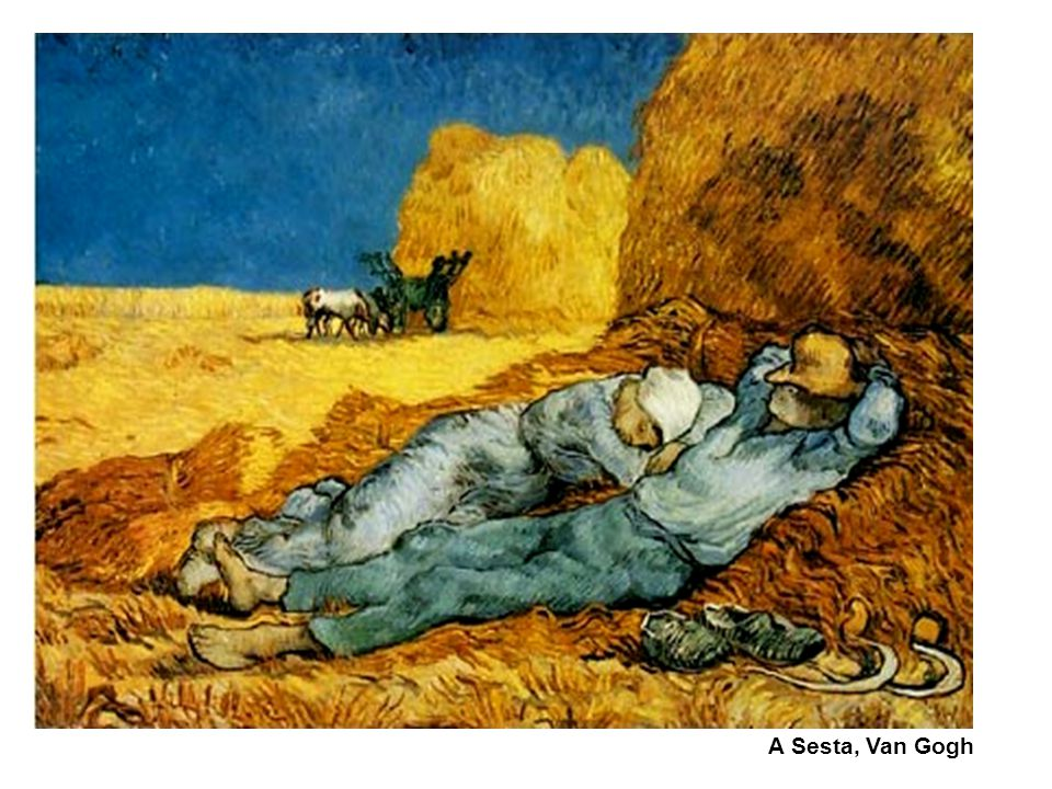 A Sesta, Van Gogh 71