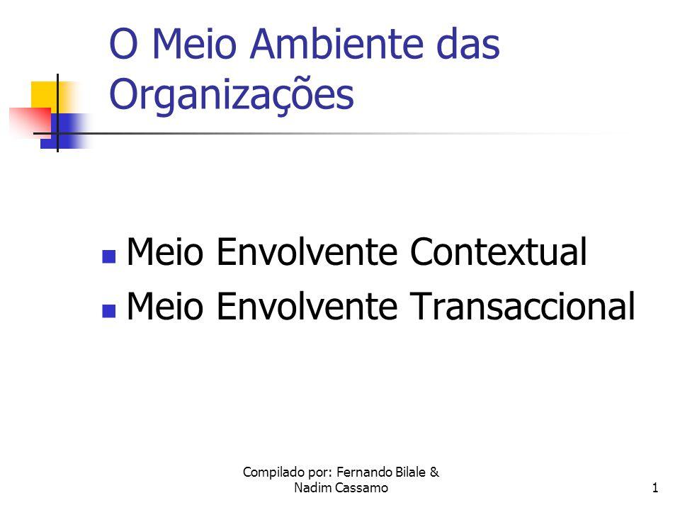O Meio Ambiente das Organizações
