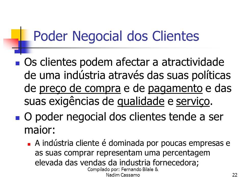 Poder Negocial dos Clientes