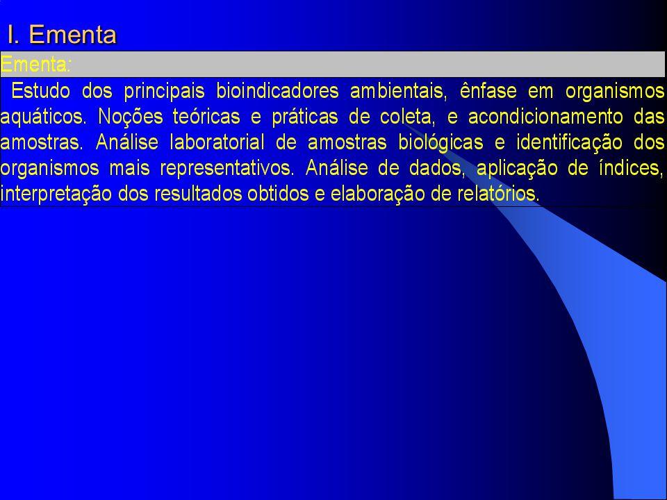I. Ementa