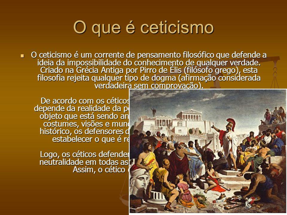 O que é ceticismo