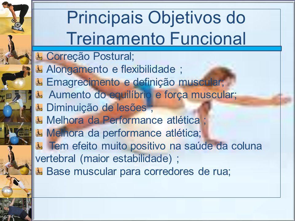 Principais Objetivos do Treinamento Funcional