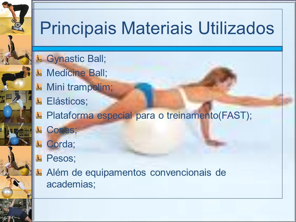 Principais Materiais Utilizados