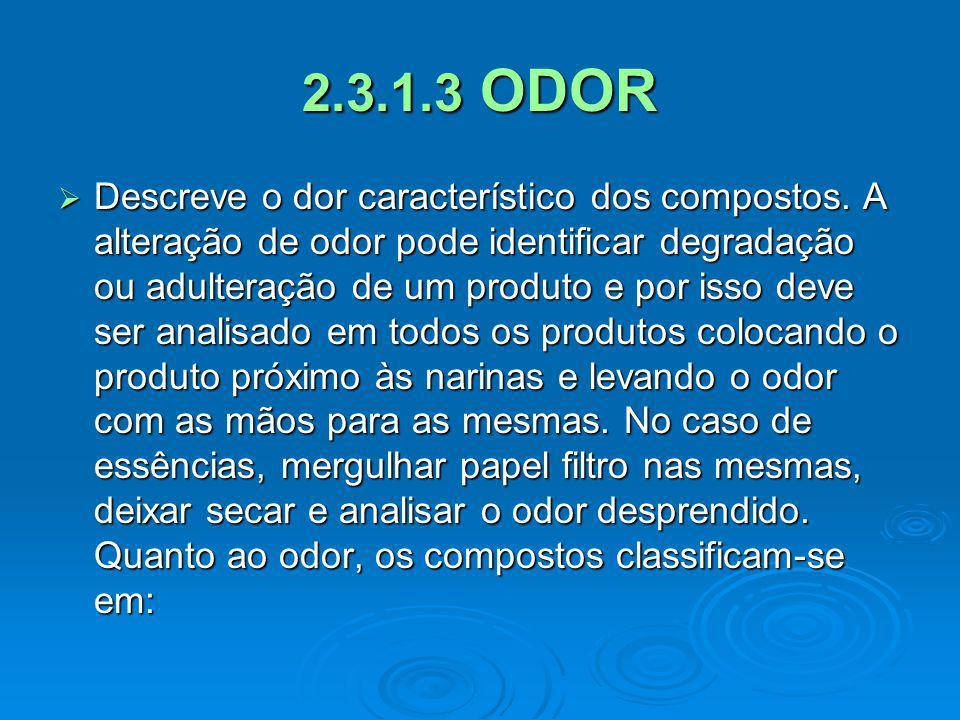 2.3.1.3 ODOR