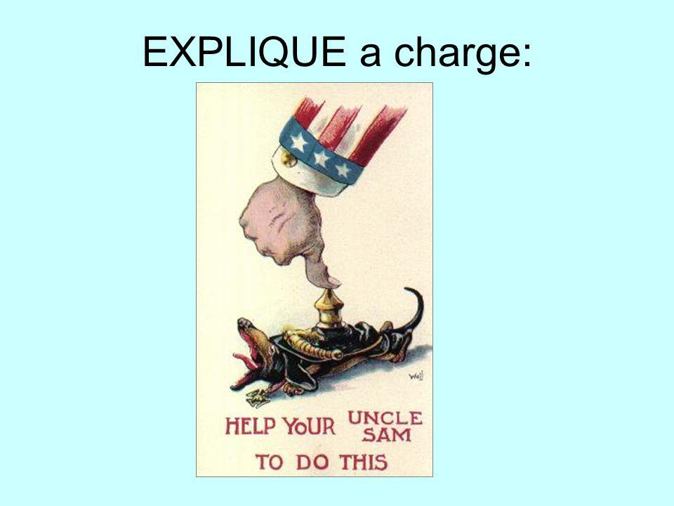 EXPLIQUE a charge: