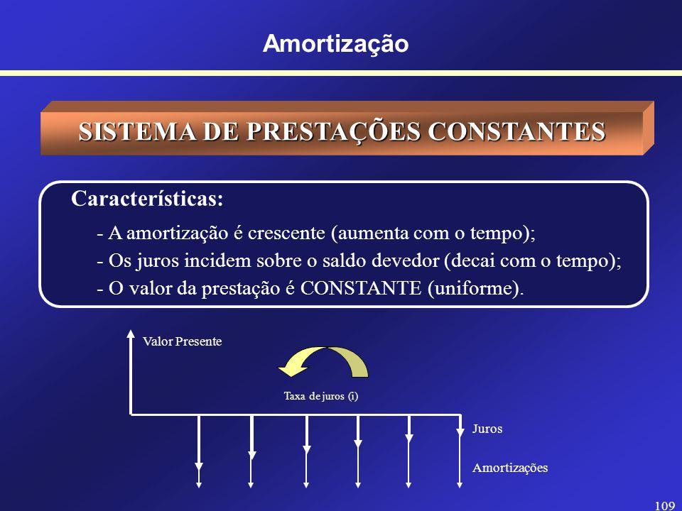SISTEMA DE PRESTAÇÕES CONSTANTES