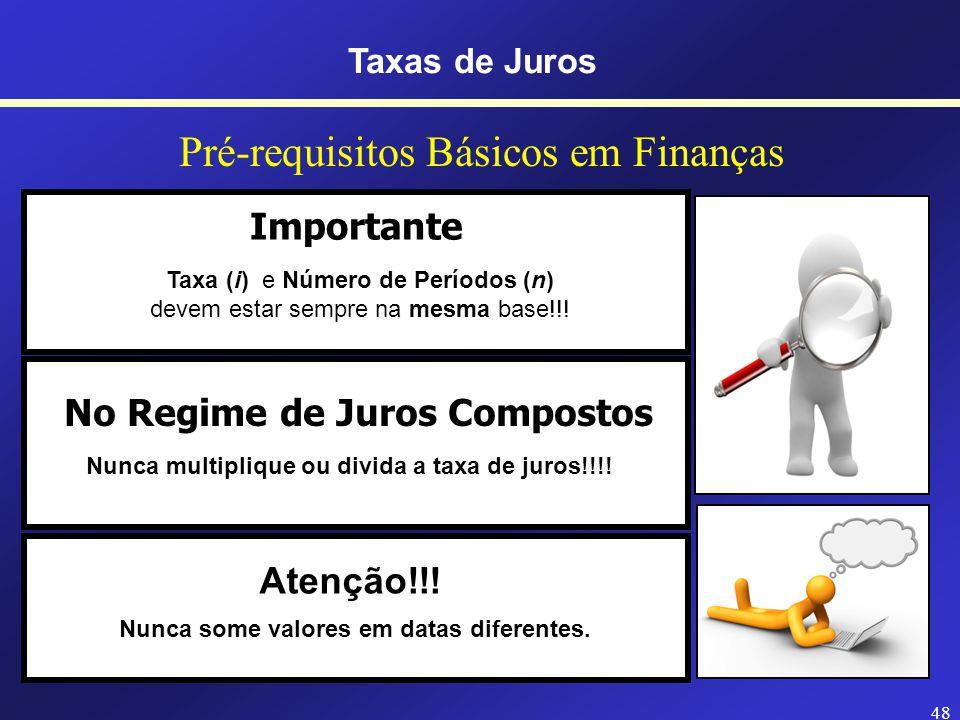Pré-requisitos Básicos em Finanças