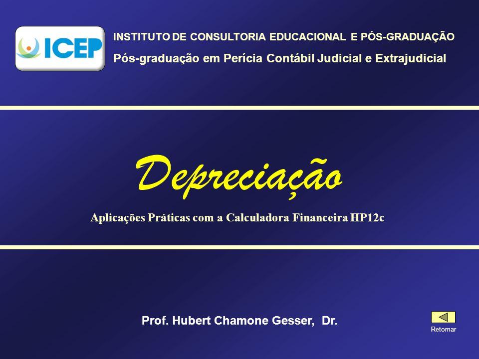 Depreciação Pós-graduação em Perícia Contábil Judicial e Extrajudicial