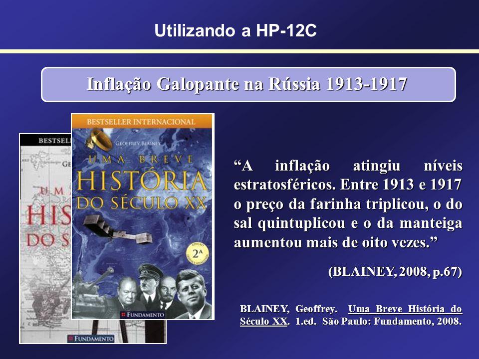 Inflação Galopante na Rússia 1913-1917