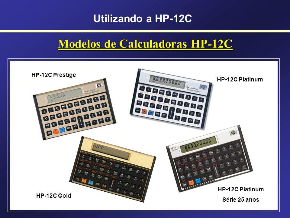 Modelos de Calculadoras HP-12C