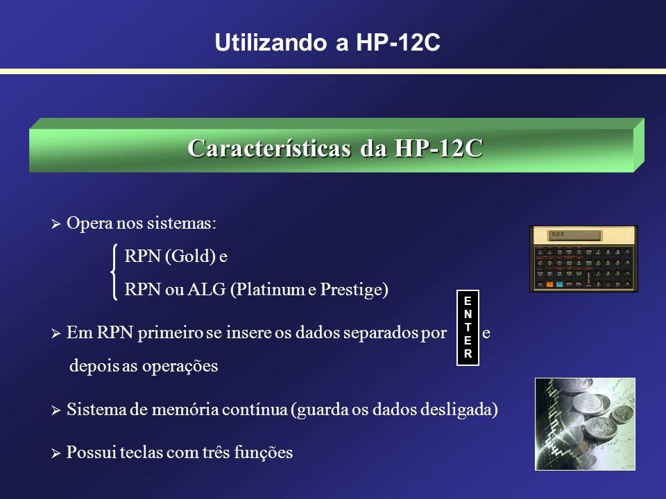 Características da HP-12C