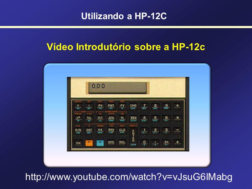 Vídeo Introdutório sobre a HP-12c