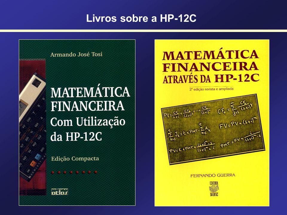 Livros sobre a HP-12C