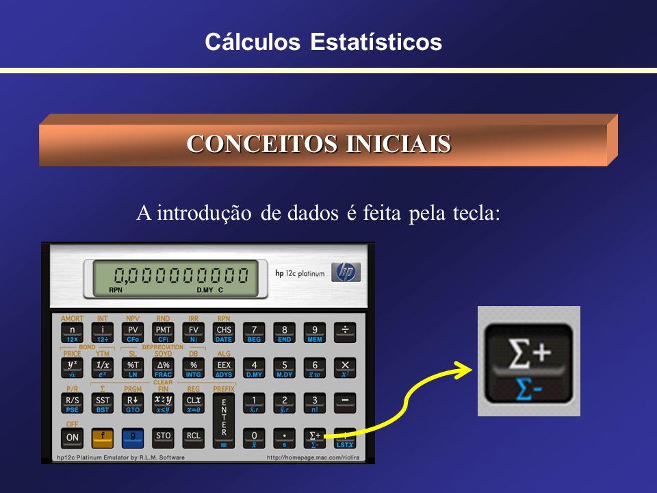 Cálculos Estatísticos