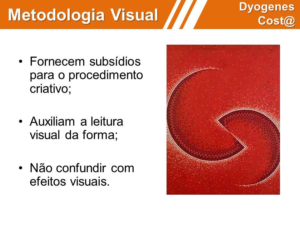 Metodologia Visual • Fornecem subsídios para o procedimento criativo;