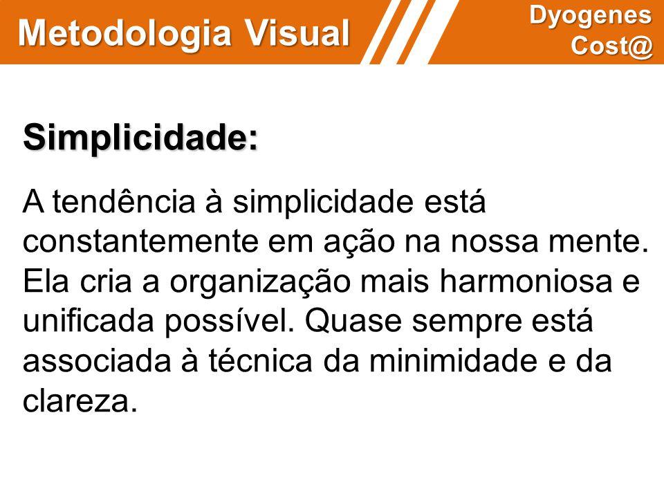 Metodologia Visual Simplicidade: