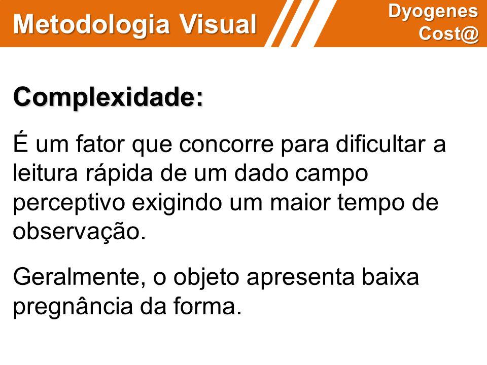 Metodologia Visual Complexidade: