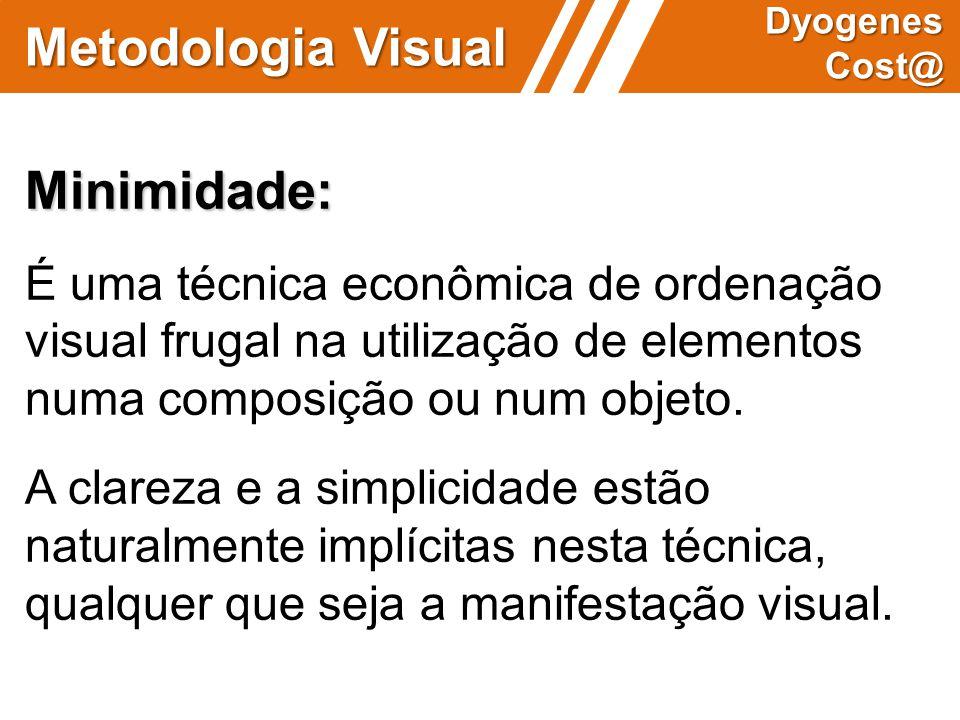 Metodologia Visual Minimidade: