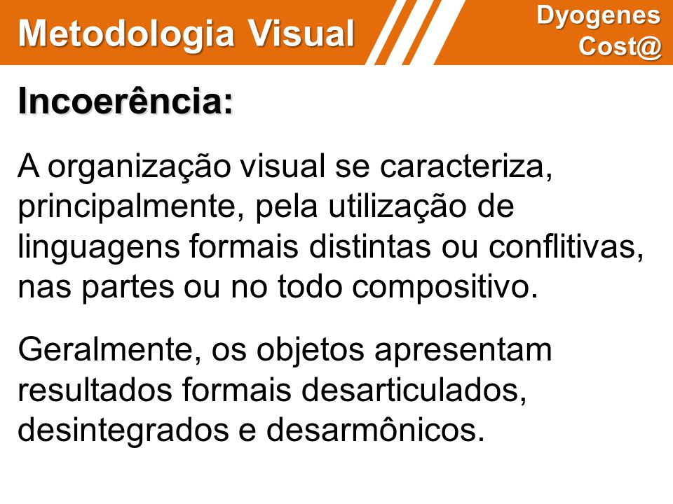Metodologia Visual Incoerência: