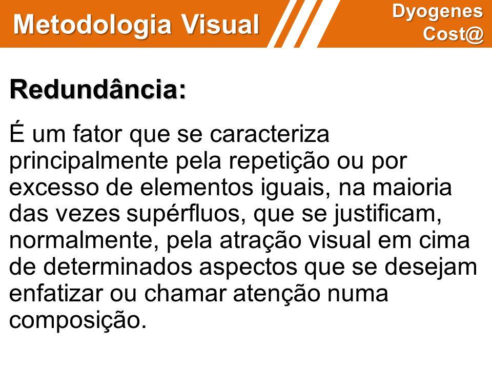 Metodologia Visual Redundância: