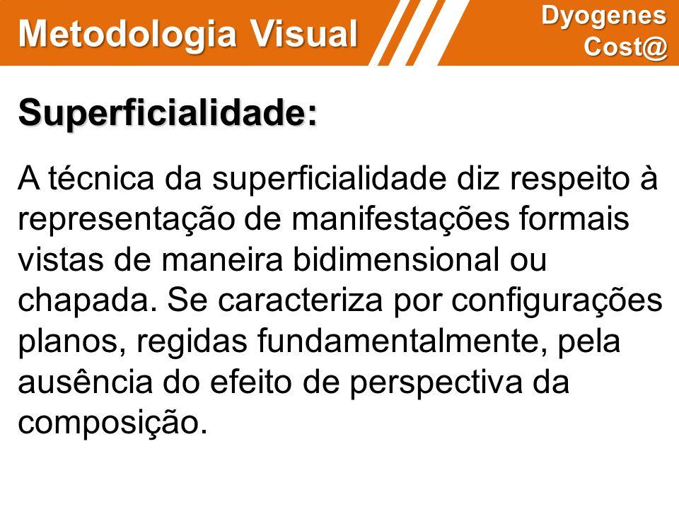 Metodologia Visual Superficialidade: