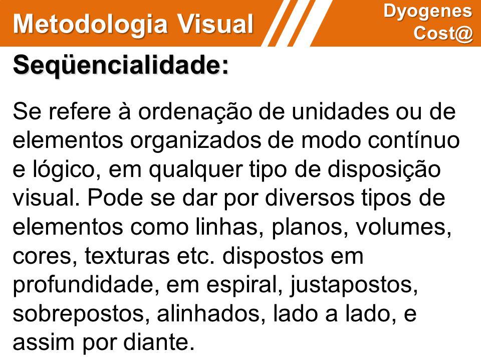 Metodologia Visual Seqüencialidade: