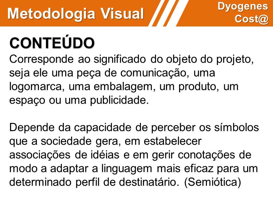 Metodologia Visual CONTEÚDO