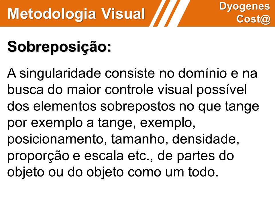 Metodologia Visual Sobreposição: