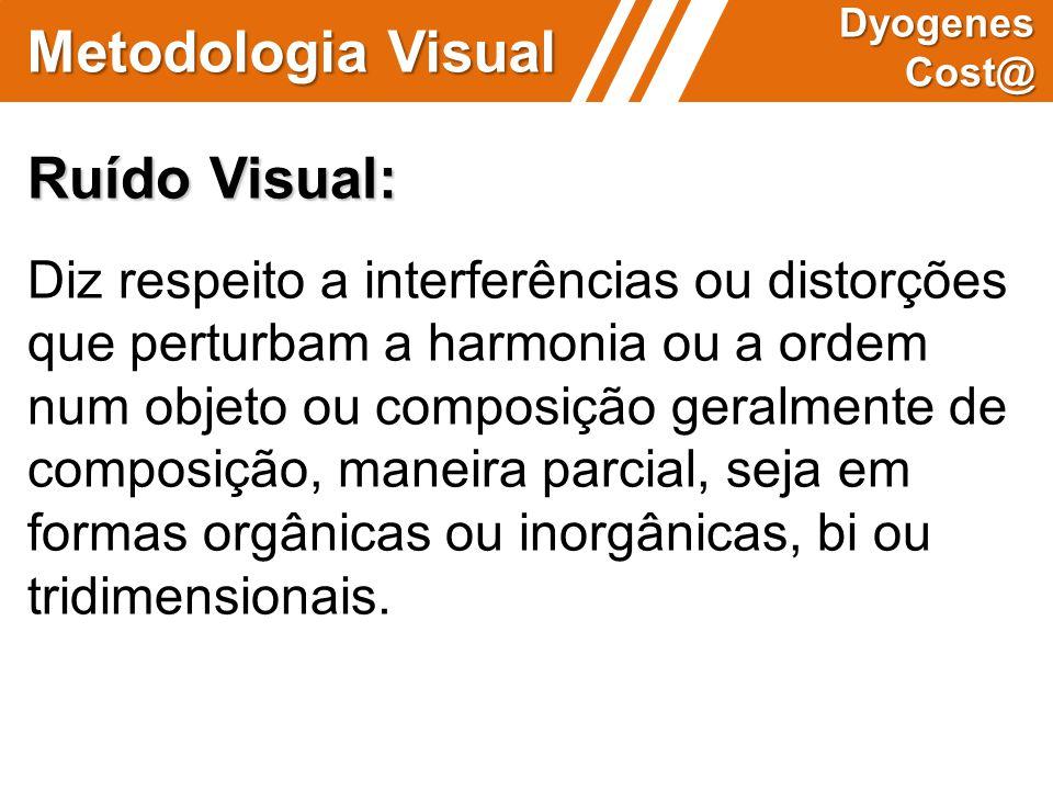 Metodologia Visual Ruído Visual: