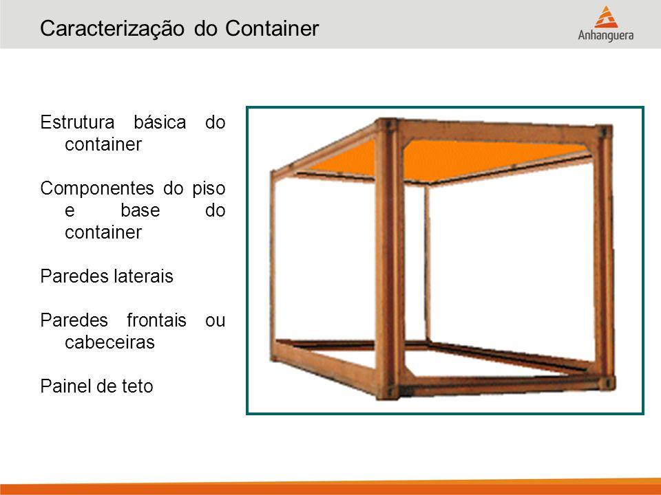 Caracterização do Container