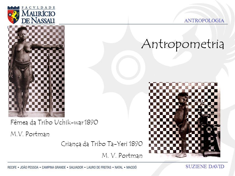 Antropometria Fêmea da Tribo Uchik-war 1890 M.V. Portman