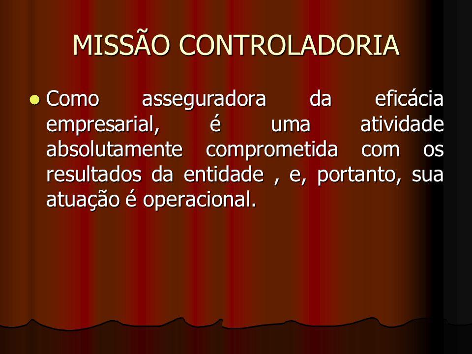 MISSÃO CONTROLADORIA