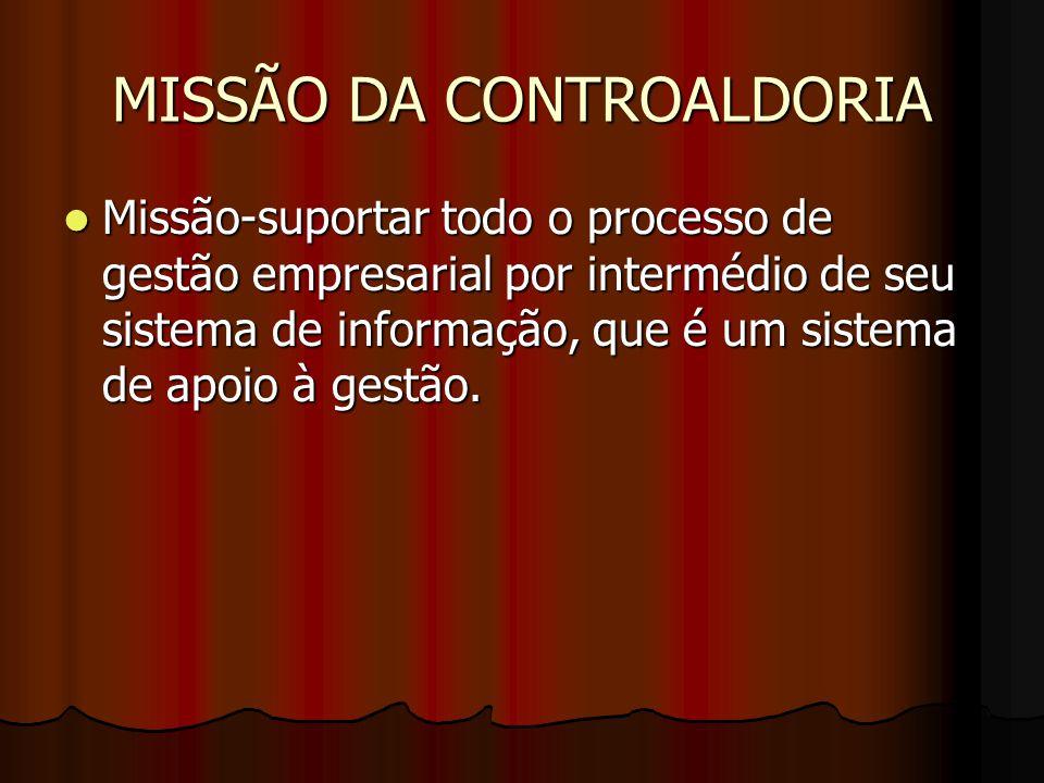 MISSÃO DA CONTROALDORIA