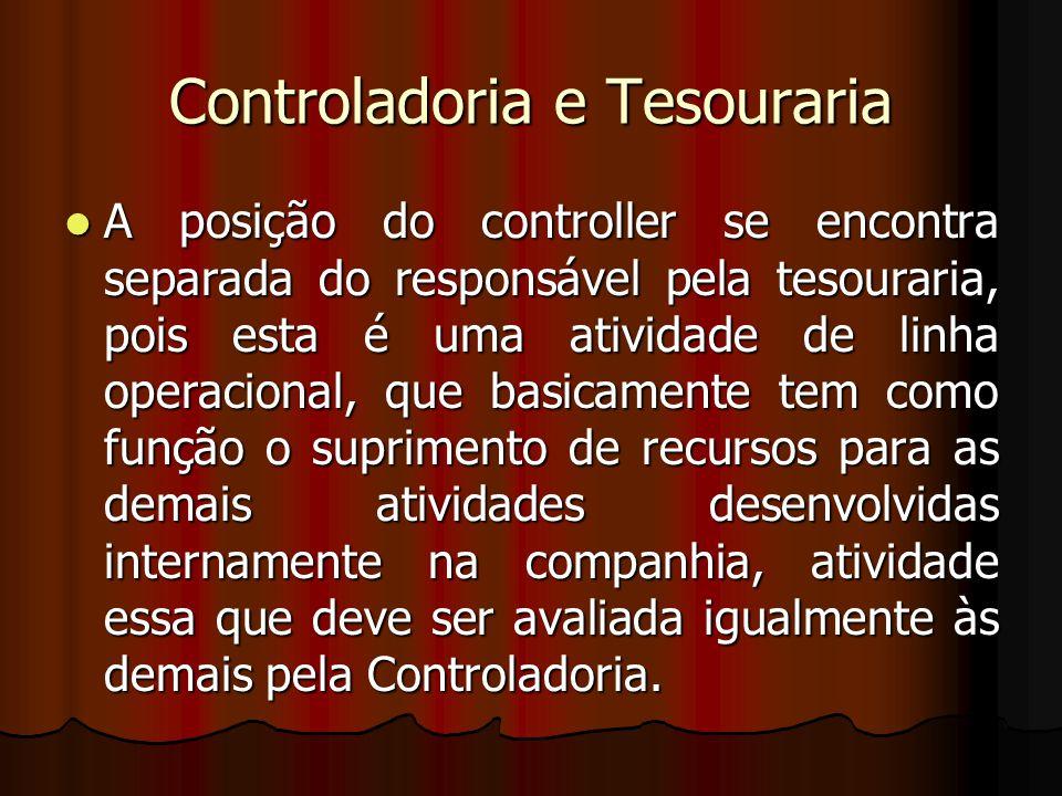 Controladoria e Tesouraria
