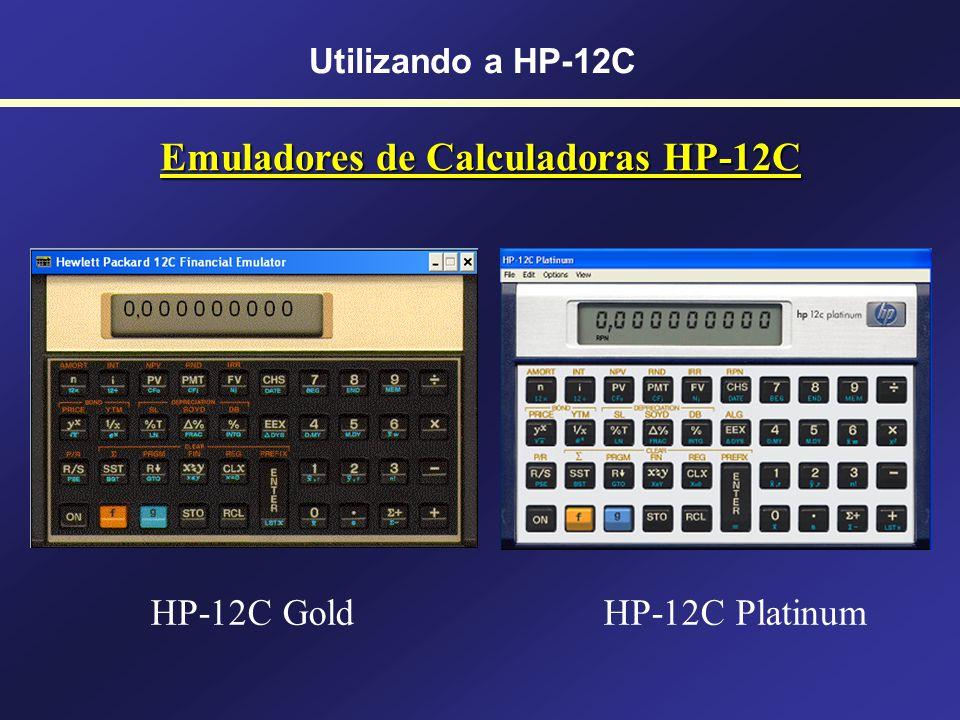 Emuladores de Calculadoras HP-12C