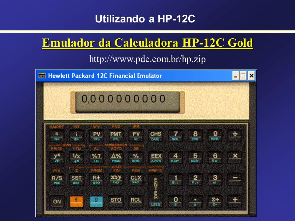 Emulador da Calculadora HP-12C Gold