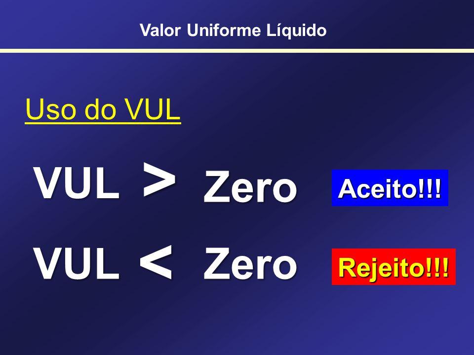 Valor Uniforme Líquido