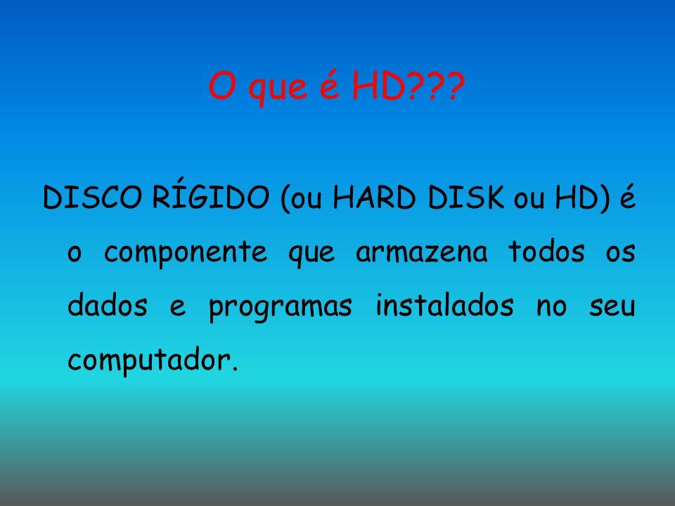 O que é HD .