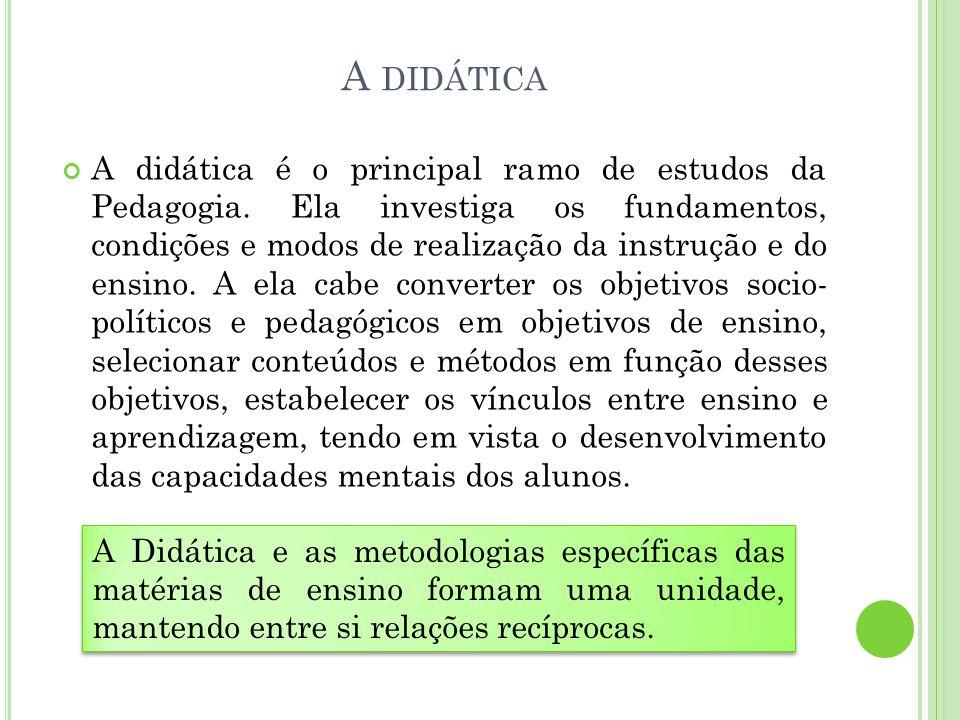 A didática