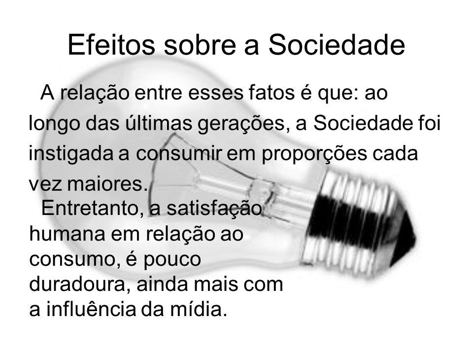 Efeitos sobre a Sociedade