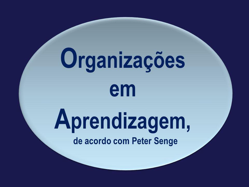 de acordo com Peter Senge