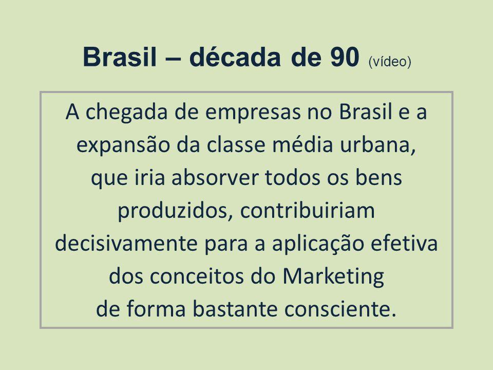 Brasil – década de 90 (vídeo)
