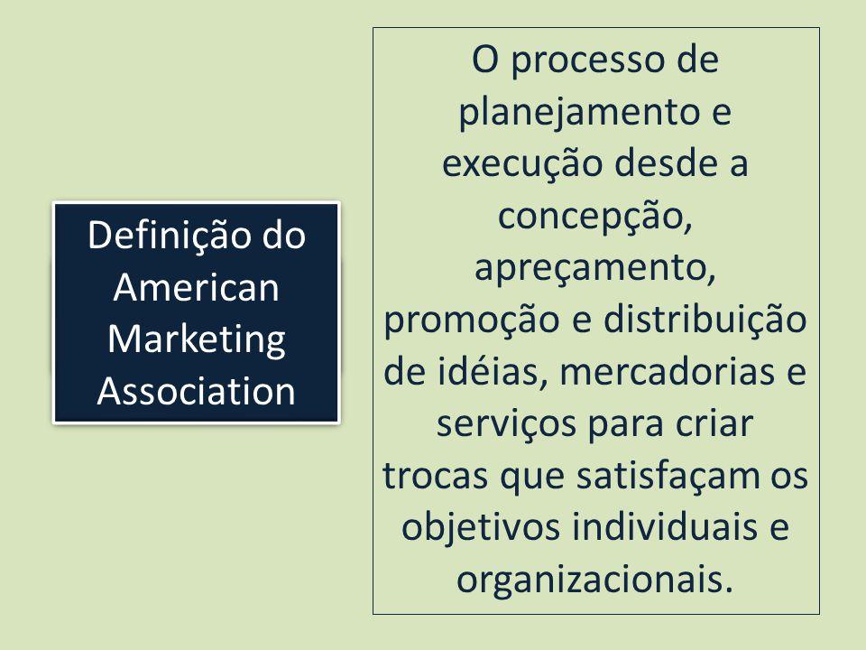 Definição do American Marketing Association