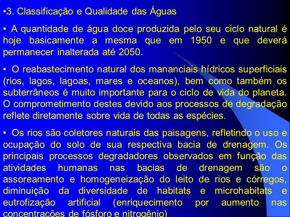 3. Classificação e Qualidade das Águas